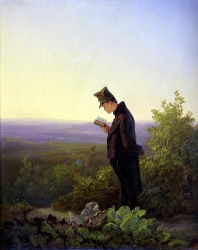 Reading the Breviary The Evening by Karl Spitzweg