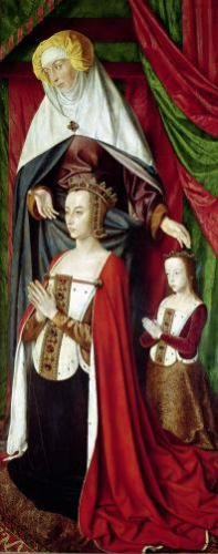 The Bourbon Altarpiece c.1498 by Master of Moulins Jean Hey