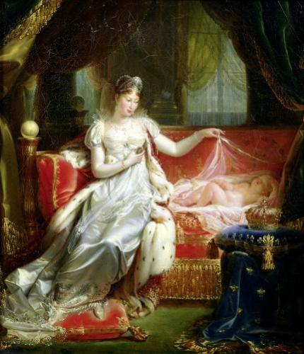 Empress Marie-Louise and the King of Rome 1812 by Joseph Franque