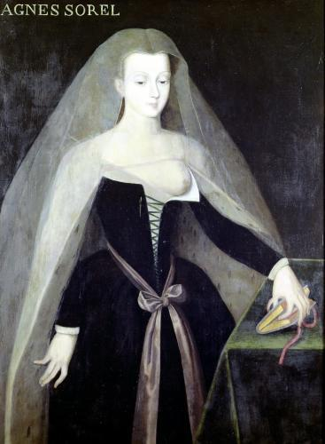 Agnes Sorel Favourite of Charles VII by French School