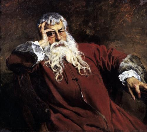 Self Portrait by Jean-Louis Ernest Meissonier