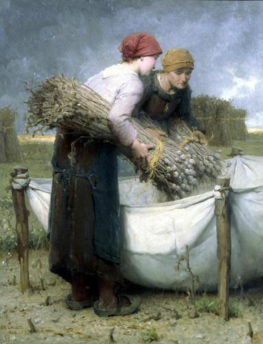 Women in the Field 1882 by Desire Francois Laugee