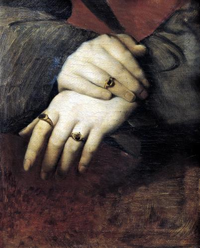 Study of a Woman's Hands by Jean-Auguste-Dominique Ingres