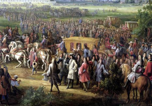 The Inauguration of the Church of the Invalides by Louis XIV by Pierre-Denis Martin