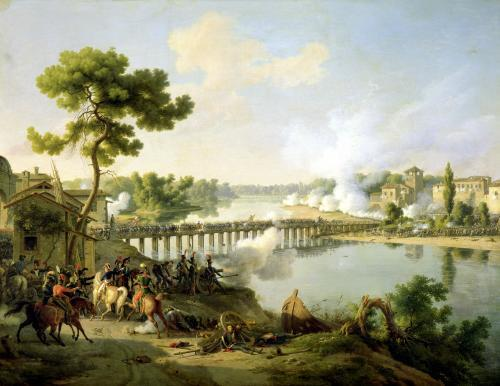 General Bonaparte Giving Orders at the Battle of Lodi c.1804 by Louis Lejeune