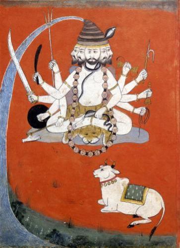 Sadashiva Rajasthan by Indian School