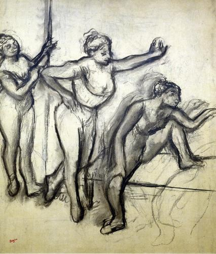 Three Dancers c.1900 by Edgar Degas