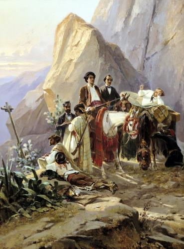 Journey from Paris to Cadiz 1846 by Eugene Giraud