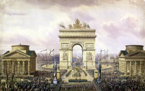 Return of the Ashes of the Emperor to Paris 1840 by Theodore Jung