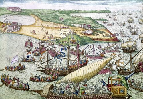 The Siege of Tunis 1535 by Franz Hogenberg