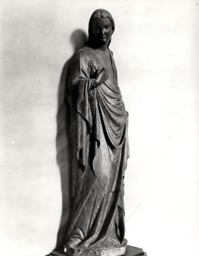 The Virgin of the Annunciation by Nino da Pisa Pisano