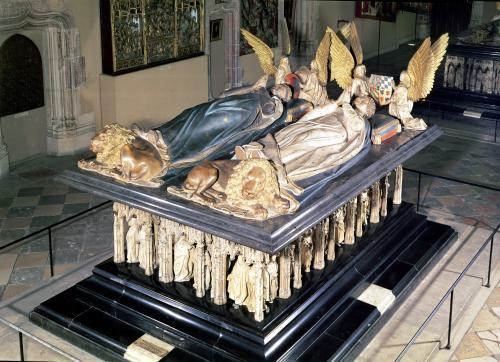 Tomb of John the Fearless and Margaret of Bavaria 1444 by Juan de la Huerta
