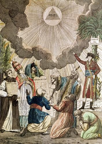 Decree Instituting the Freedom of Worship 1799 by French School