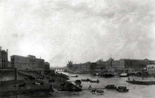 View of Paris from the Pont-Neuf c.1800 by Pierre Antoine Demachy