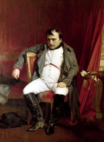 Napoleon after his Abdication by Paul Delaroche