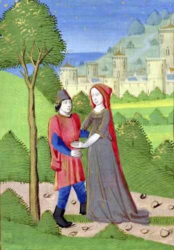 Hosea and the Prostitute by French School