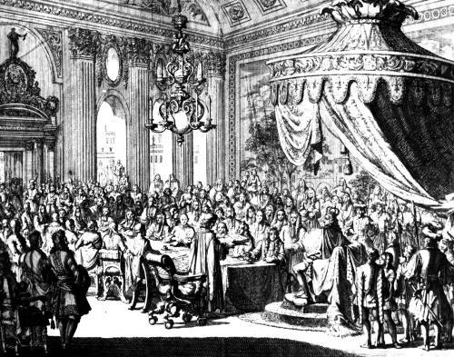 Revocation of the Edict of Nantes 1685 by Jan Luyken