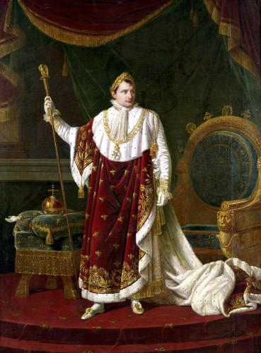 Portrait of Napoleon in his Coronation Robes 1811 by Robert Lefevre