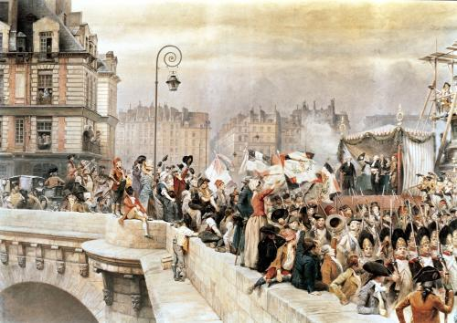 The Departure of the Volunteers by Jean-Baptiste Edouard Detaille