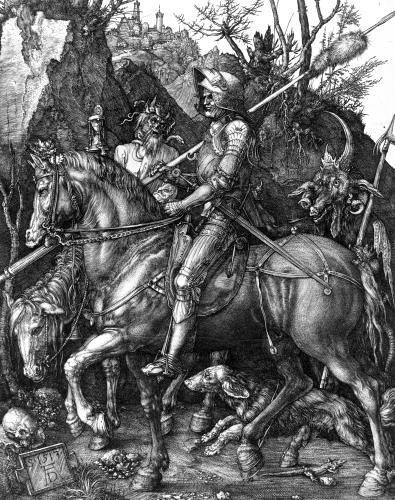 The Knight Death and the Devil 1513 by Albrecht Dürer
