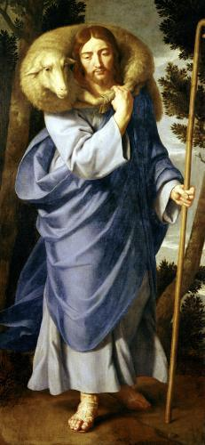 The Good Shepherd by Philippe de Champaigne