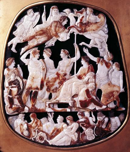 The Great Cameo of France by Roman Art