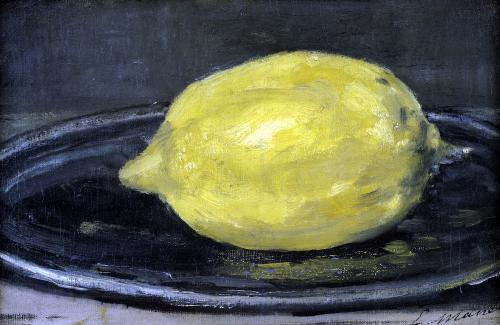 The Lemon 1880 by Edouard Manet