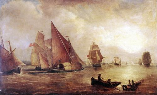 Estuary of the Thames and the Medway by Joseph Mallord William Turner