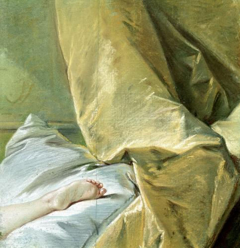 The Foot of Miss O'Murphy by Francois Boucher