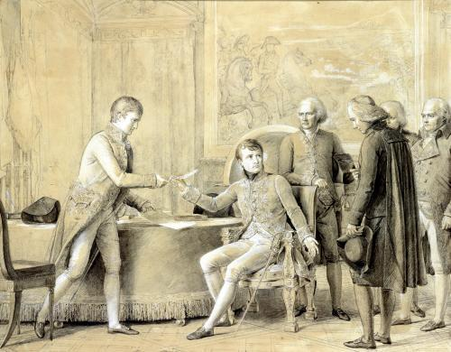 The Signing of the Concordat between France and the Holy See 1801 by Baron Francois Pascal Simon Gerard