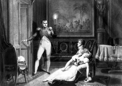 The Divorce of Napoleon I and Josephine Tascher de la Pagerie by Charles Abraham Chasselat