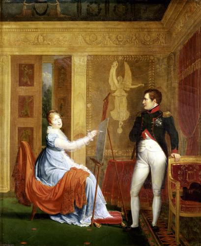 Marie Louise of Habsbourg Lorraine Painting by Alexandre Menjaud