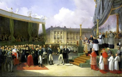 Inauguration of a Monument in Memory of Louis XVI by Charles X by Joseph Beaume