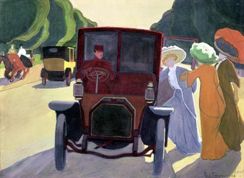 The Road with Acacias 1908 by Roger de la Fresnaye