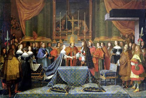 Celebration of the Marriage of Louis XIV and Maria Theresa by Laumosnier