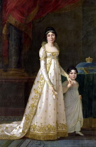 Portrait of Marie-Julie Clary Queen of Naples 1807 by Robert Lefevre