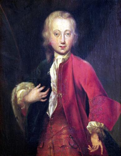 Portrait of Comte Maurice de Saxe c.1711 by Adriaan van der Werff