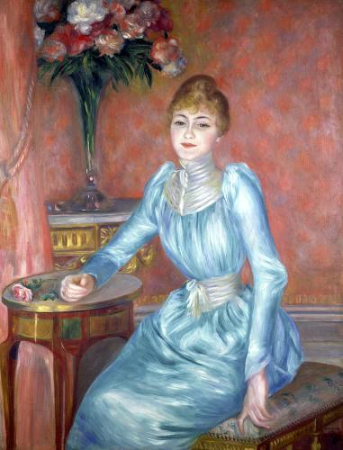 Madame de Bonnieres 1889 by Pierre Auguste Renoir