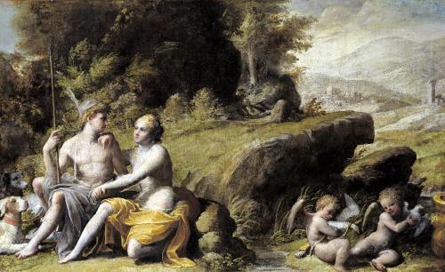Mythological Scene by French School
