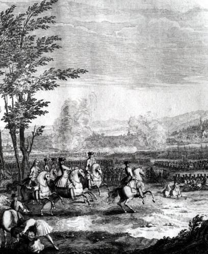 The Battle of Blenheim 1735 by Benoit du Cercle