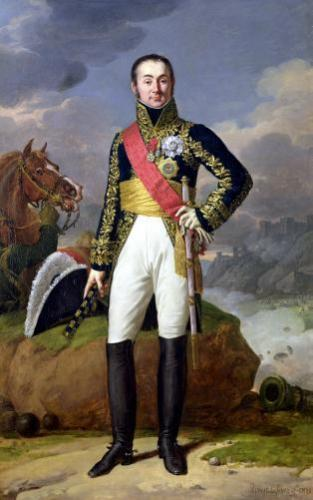 Nicolas-Charles Oudinot Duke of Reggio 1811 by Robert Lefevre