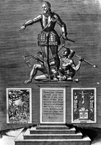 Portrait Glorifying Ferdinand Alvarez of Toledo by Flemish School