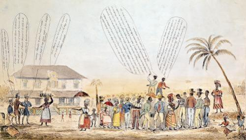 A Public Meeting of West Indian Negro Slaves 1846 by English School