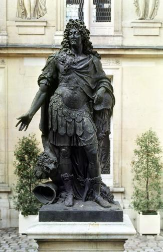 Statue of Louis XIV by Antoine Coysevox