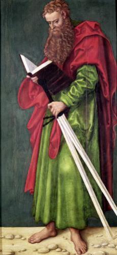 St. Paul by Lucas Cranach