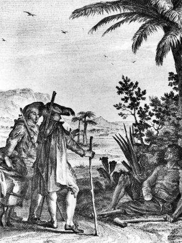C'est a ce prix que vous mangez du sucre en Europe, 1787 by Jean Michel Moreau the Younger