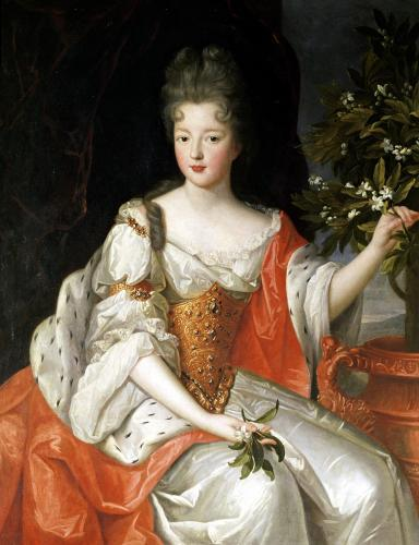 Portrait of Louise-Francoise de Bourbon by French School