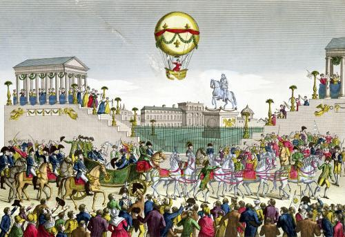 Entry into Paris of Louis XVIII 1814 by French School