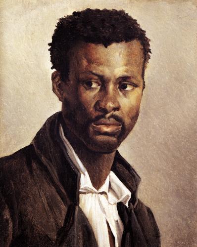 A Negro 1823 by Jean-Louis-André-Théodore Géricault