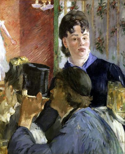 Waitress Serving by Edouard Manet